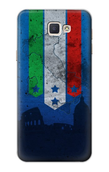Printed Italy Football Flag Samsung Galaxy A8, A8 Duos Case