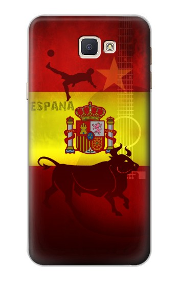 Printed Spain Football Flag Samsung Galaxy A8, A8 Duos Case