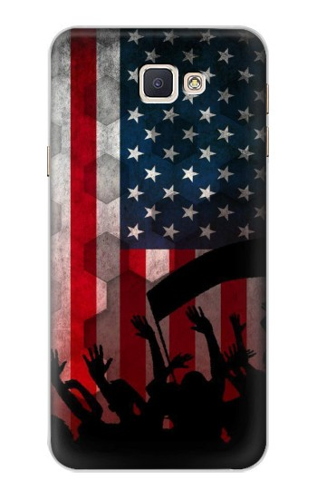 Printed USA American Football Flag Samsung Galaxy A8, A8 Duos Case