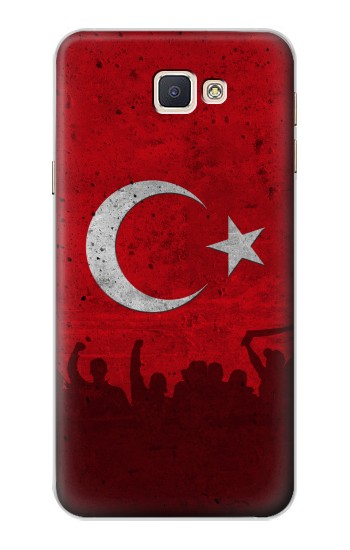 Printed Turkey Football Flag Samsung Galaxy A8, A8 Duos Case