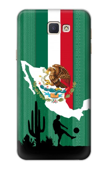 Printed Mexico Football Flag Samsung Galaxy A8, A8 Duos Case