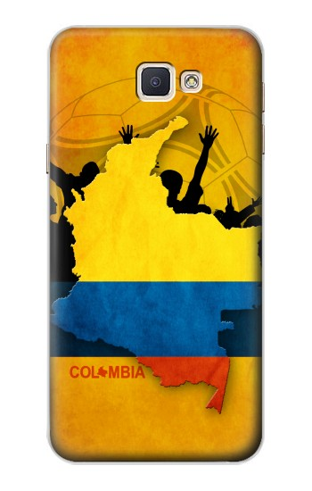 Printed Colombia Football Flag Samsung Galaxy A8, A8 Duos Case