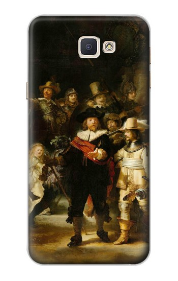 Printed The Night Watch Rembrandt Samsung Galaxy A8, A8 Duos Case