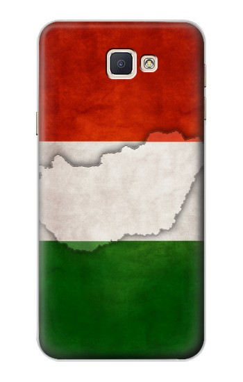 Printed Hungary Flag Samsung Galaxy A8, A8 Duos Case