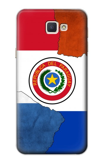 Printed Paraguay Flag Samsung Galaxy A8, A8 Duos Case