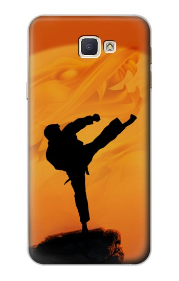 Printed Kung Fu Karate Fighter Samsung Galaxy A8, A8 Duos Case
