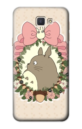 Printed My Neighbor Totoro Wreath Samsung Galaxy A8, A8 Duos Case