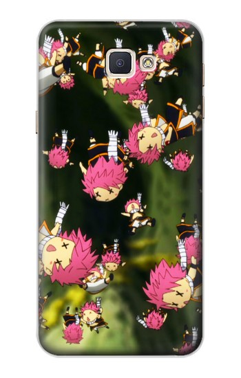 Printed Fairy Tail Little Natsu Fall Samsung Galaxy A8, A8 Duos Case