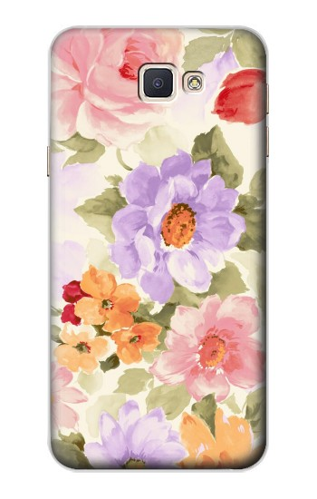 Printed Sweet Flower Painting Samsung Galaxy A8, A8 Duos Case