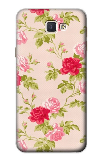 Printed Pretty Rose Cottage Flora Samsung Galaxy A8, A8 Duos Case