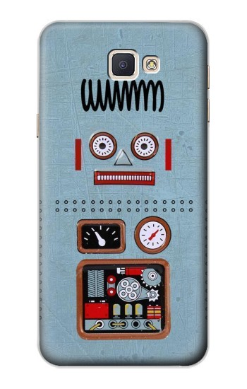 Printed Retro Robot Toy Samsung Galaxy A8, A8 Duos Case