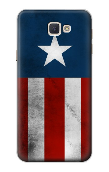 Printed Captain Star Flag of America Samsung Galaxy A8, A8 Duos Case