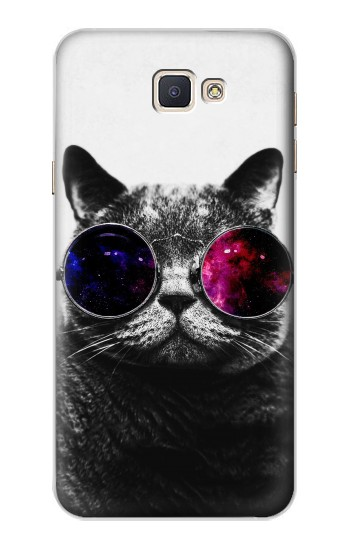 Printed Cool Cat Glasses Samsung Galaxy A8, A8 Duos Case