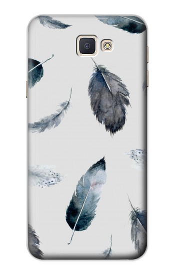 Printed Feather Paint Pattern Samsung Galaxy A8, A8 Duos Case