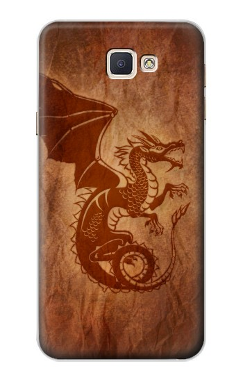 Printed Red Dragon Tattoo Samsung Galaxy A8, A8 Duos Case