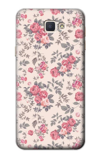 Printed Vintage Rose Pattern Samsung Galaxy A8, A8 Duos Case