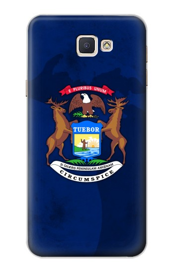 Printed State of Michigan Flag Samsung Galaxy A8, A8 Duos Case