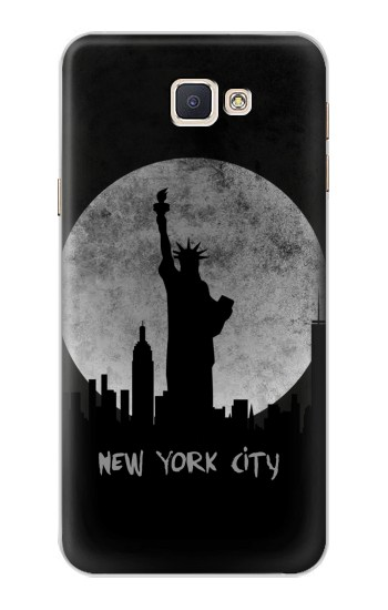 Printed New York City Samsung Galaxy A8, A8 Duos Case