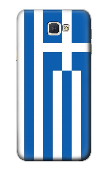 Printed Flag of Greece Samsung Galaxy A8, A8 Duos Case