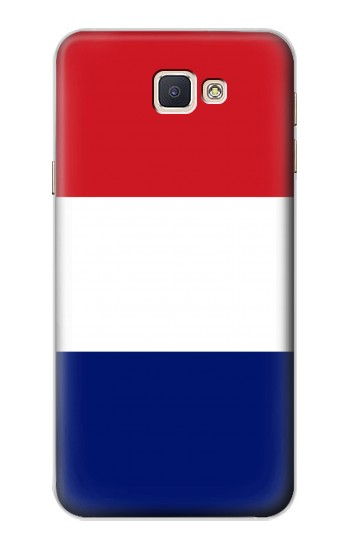 Printed Flag of France and the Netherlands Samsung Galaxy A8, A8 Duos Case