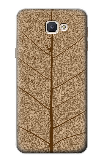 Printed Skeleton Leaf Printed Samsung Galaxy A8, A8 Duos Case