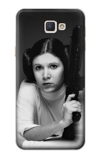 Printed Princess Leia Carrie Fisher Samsung Galaxy A8, A8 Duos Case