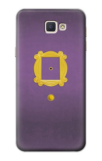 Printed Friends Purple Door Minimalist Samsung Galaxy A8, A8 Duos Case