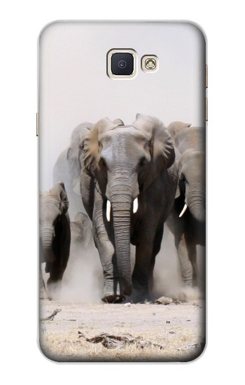 Printed African Elephant Samsung Galaxy A8, A8 Duos Case