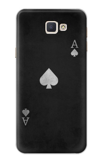Printed Black Ace of Spade Samsung Galaxy A8, A8 Duos Case
