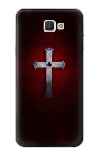 Printed Christian Cross Samsung Galaxy A8, A8 Duos Case