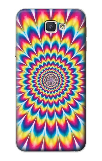 Printed Colorful Psychedelic Samsung Galaxy A8, A8 Duos Case