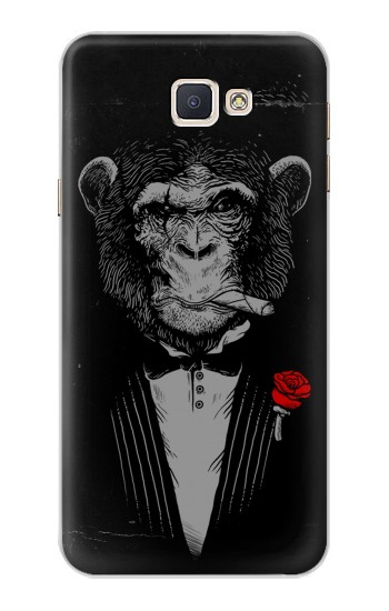 Printed Funny Monkey God Father Samsung Galaxy A8, A8 Duos Case