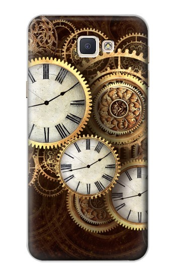 Printed Gold Clock Live Samsung Galaxy A8, A8 Duos Case