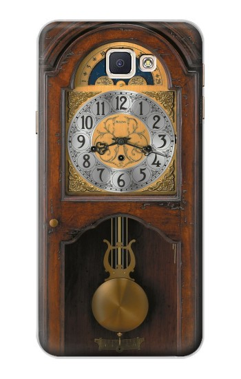 Printed Grandfather Clock Antique Wall Clock Samsung Galaxy A8, A8 Duos Case