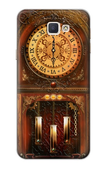 Printed Grandfather Clock Samsung Galaxy A8, A8 Duos Case