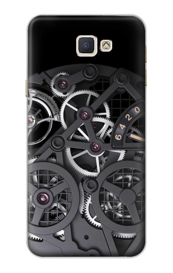 Printed Inside Watch Black Samsung Galaxy A8, A8 Duos Case