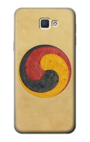 Printed Korean Traditional Drum Samsung Galaxy A8, A8 Duos Case