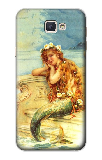 Printed Little Mermaid Painting Samsung Galaxy A8, A8 Duos Case