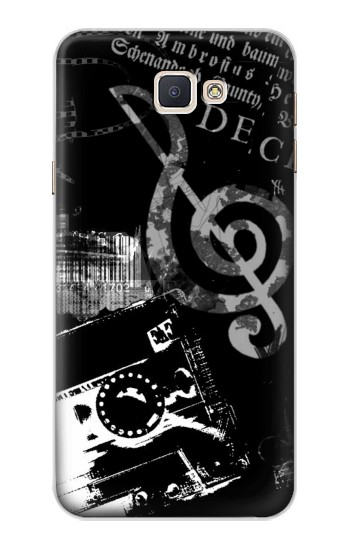 Printed Music Cassette Note Samsung Galaxy A8, A8 Duos Case