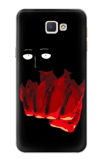 Printed One Punch Man Fight Samsung Galaxy A8, A8 Duos Case