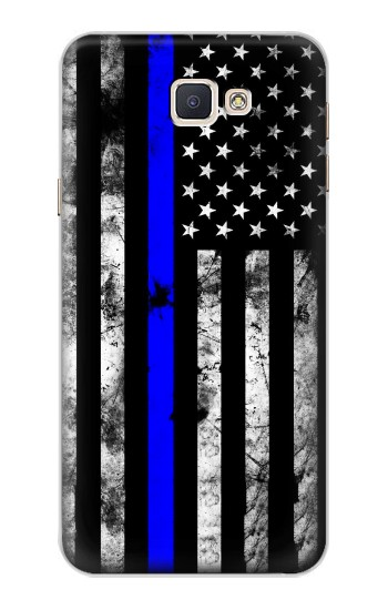 Printed Thin Blue Line USA Samsung Galaxy A8, A8 Duos Case