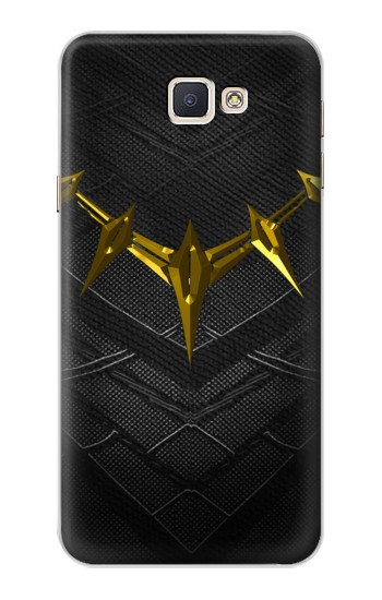Printed Black Panther Inspired Costume Gold Necklace Samsung Galaxy A8, A8 Duos Case
