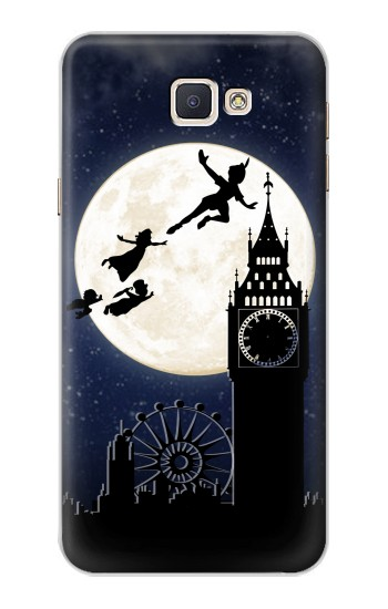 Printed Peter Pan Fly Fullmoon Night Samsung Galaxy A8, A8 Duos Case