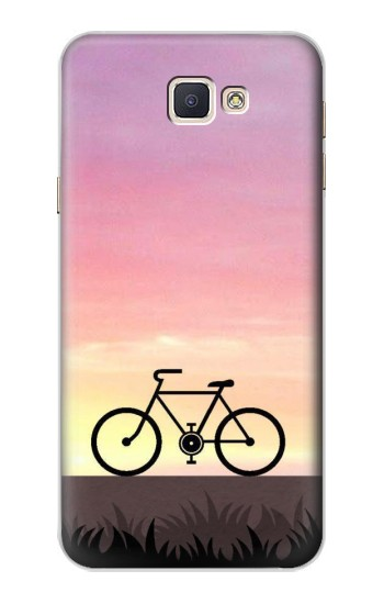 Printed Bicycle Sunset Samsung Galaxy A8, A8 Duos Case