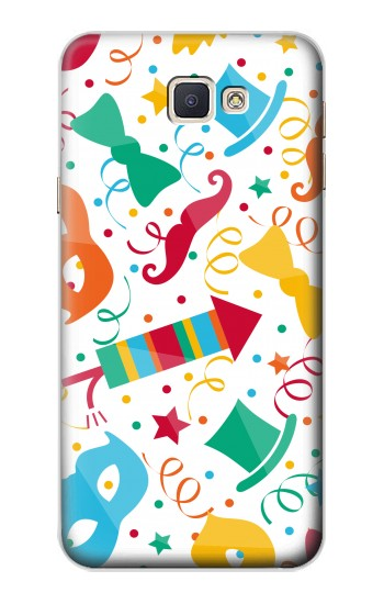 Printed Carnival Pattern Samsung Galaxy A8, A8 Duos Case