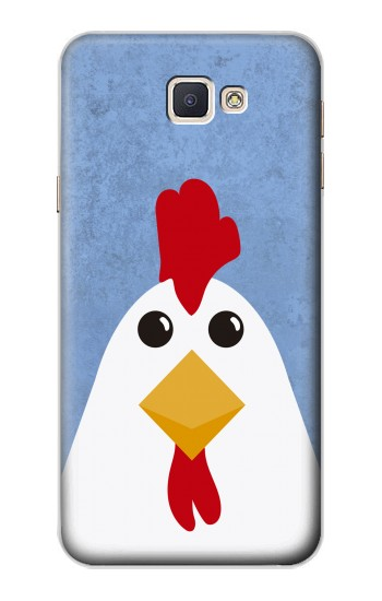 Printed Chicken Cartoon Samsung Galaxy A8, A8 Duos Case
