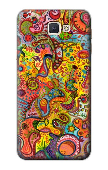 Printed Colorful Art Pattern Samsung Galaxy A8, A8 Duos Case