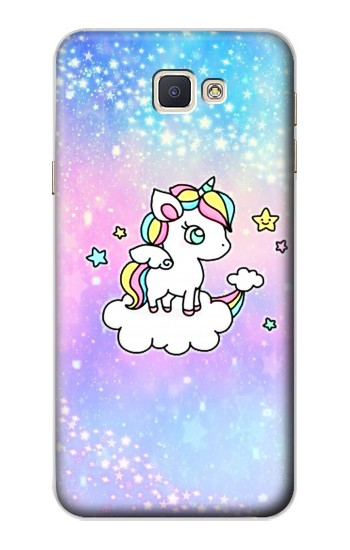 Printed Cute Unicorn Cartoon Samsung Galaxy A8, A8 Duos Case