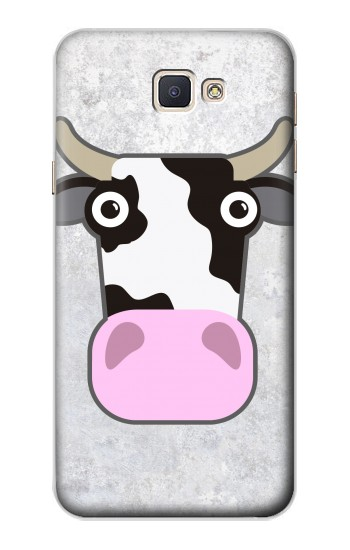 Printed Cow Cartoon Samsung Galaxy A8, A8 Duos Case