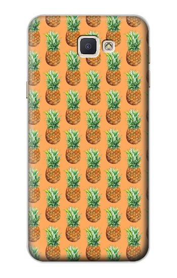 Printed Pineapple Pattern Samsung Galaxy A8, A8 Duos Case